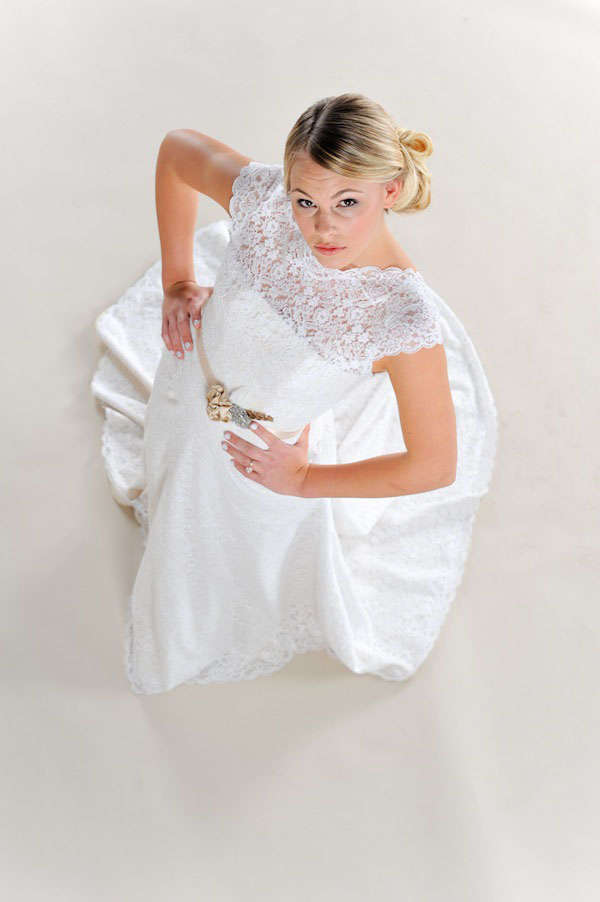 rochii de mireasa eco bumbac natural